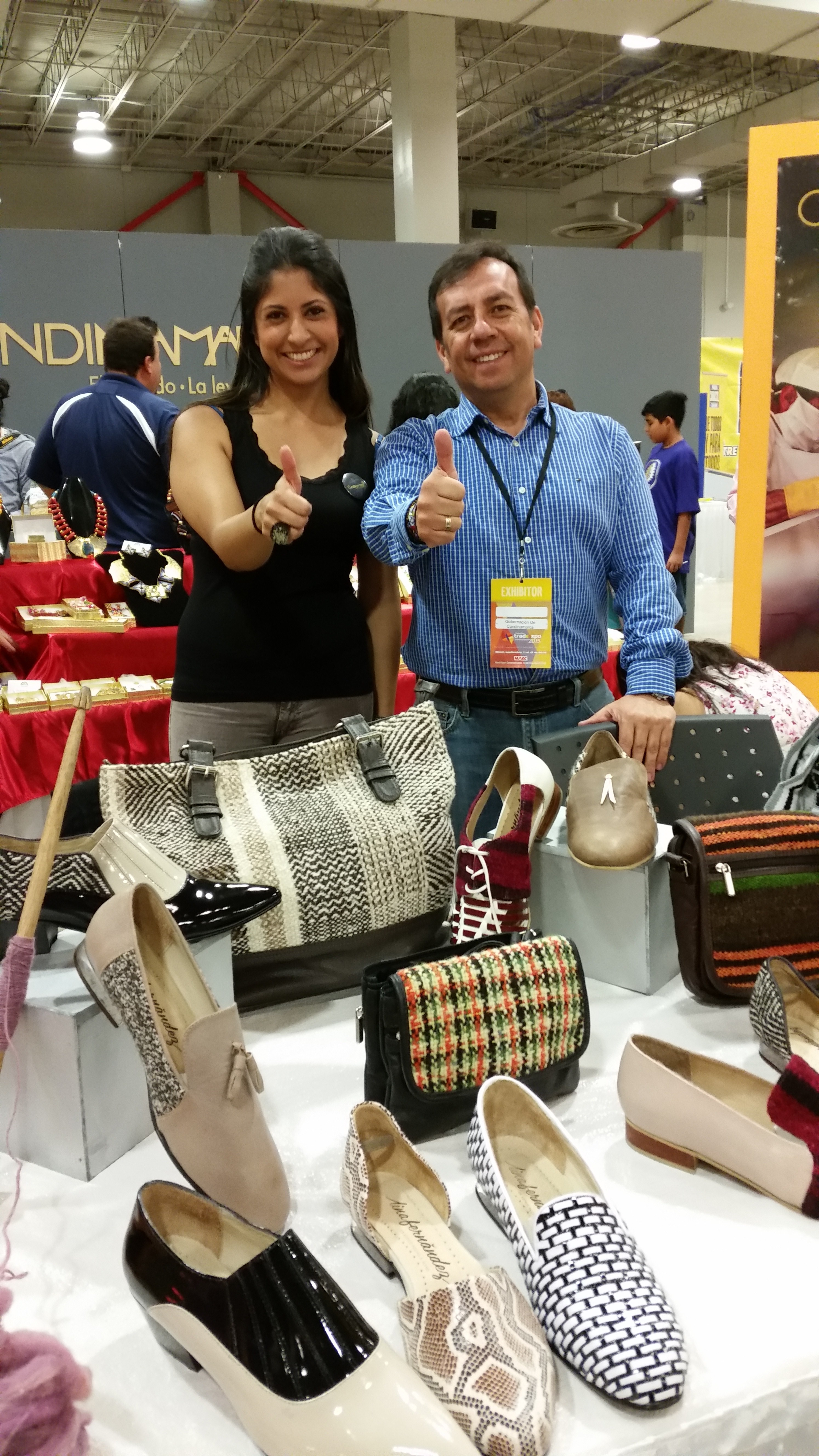 Empresarios cundinamarquese participaron en Feria ExpoMiami Trade Center 2