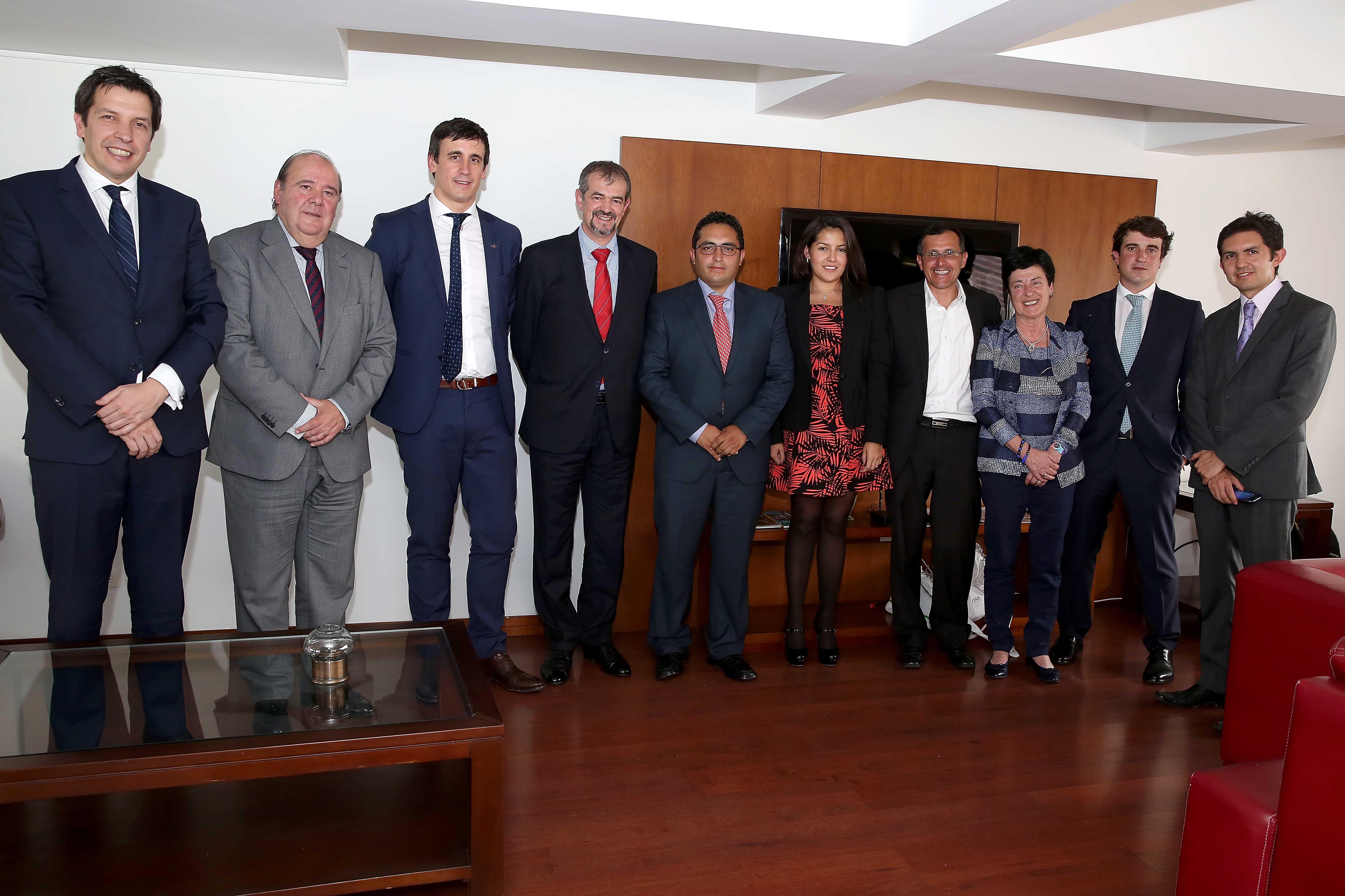 Reunión con representantes país vasco 1